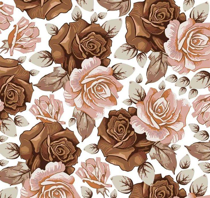 fondos florales vintage - Buscar con Google