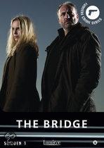 The bridge-Originele titel: Bron/Broen  Cast: Sofia Helin, Kim Bodnia & Dag Malmberg