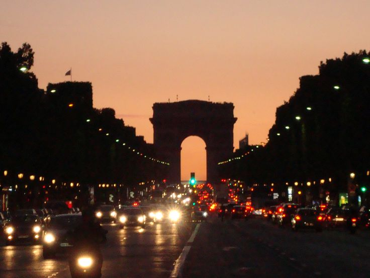 #Paris #champs elysees By night