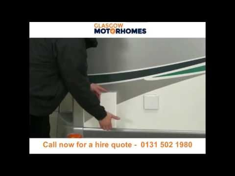Motorhome hire and campervan rental Glasgow - Call 0131 502 1980