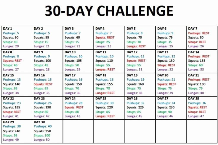 30 90 Day Work Plan Template in 2020 30 day workout