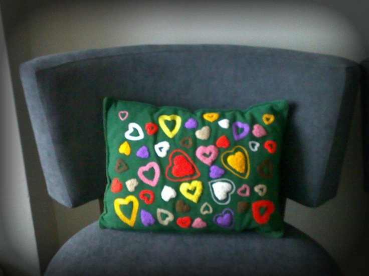 I did these lovely cushionsCushions