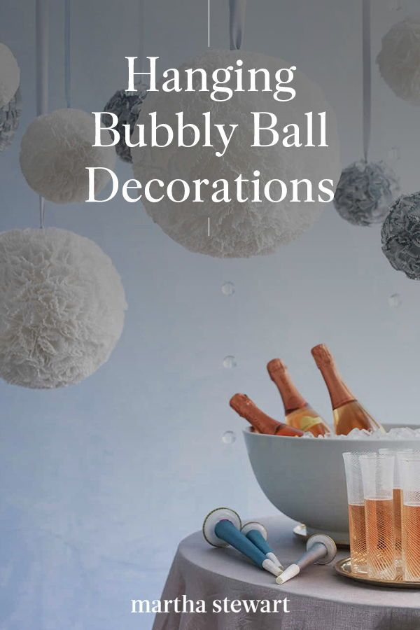 Hanging Bubbly Ball Decorations In 2020 Ball Decorations Diy Decor Decor