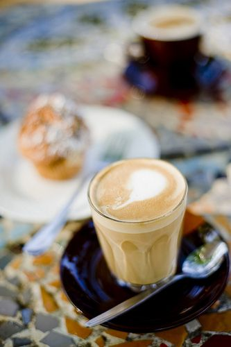 Mmm... yummy coffee break after some great walks, Marysville, Victoria.  www.marysvilletourism.com/visit-marysville-apps