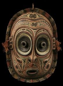 oceanic art images | Masque Iatmul Sepik Mask Tambanum Oceanic Tribal Art | eBay