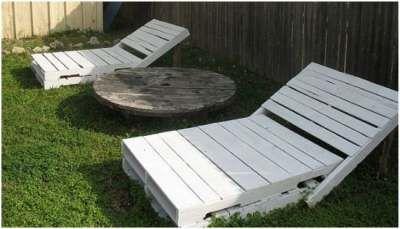 Maak deze tuinbedden van een paar oude pallets.