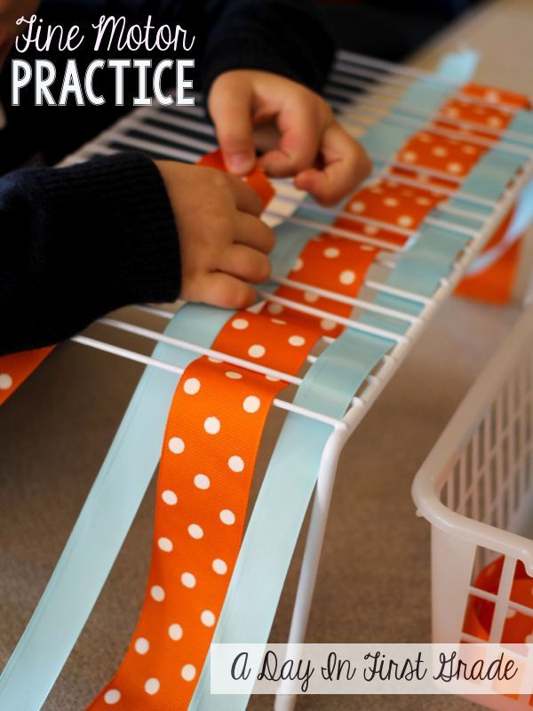 fine motor practice for young learners