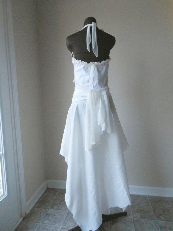 Pixie Wedding Dress Elven Boho Hippie Gown Alternative By Colorada 46000