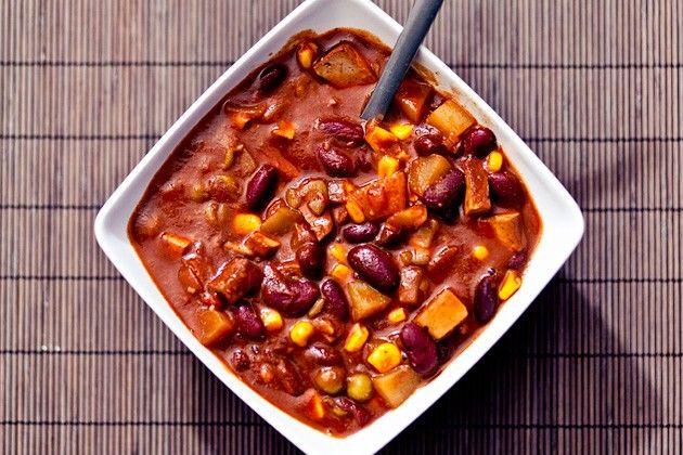 Chili-Bohnen Eintopf