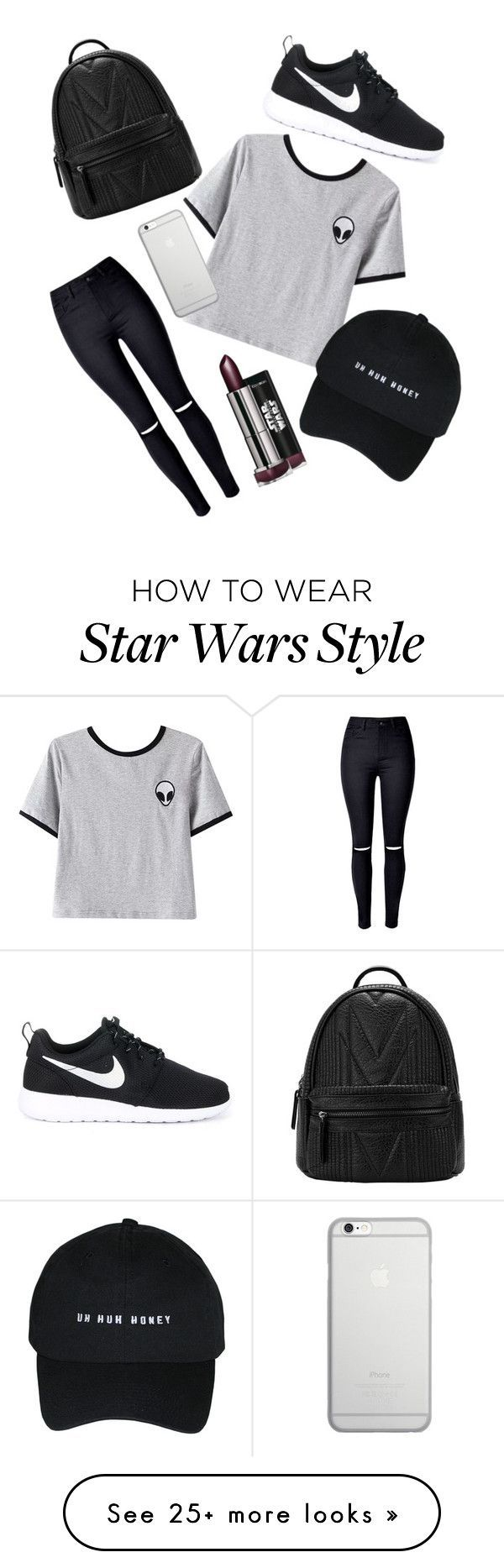 Ultimate Tumblr by annrise on Polyvore featuring Chicnova Fashion, WithChic, NIKE and Native Union