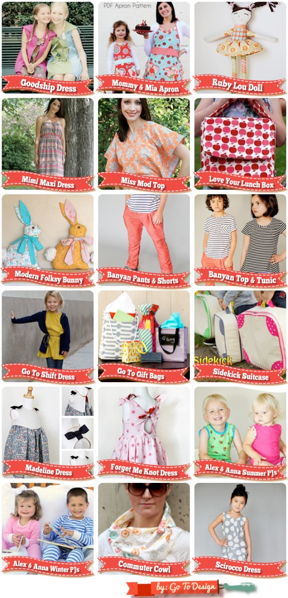 Sew Fab Pattern Sale ... I bought the lot