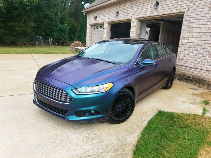 My Colorshift 2016 Ford Fusion Titanium #KSILCUSTOMZ #FusionLife #Dipzlyfe