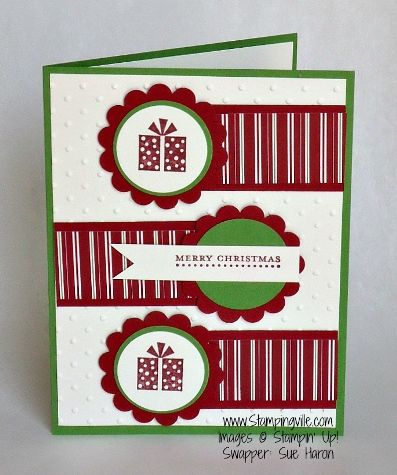 Christmas ~ http://stampingville.blogspot.ca/2012/08/cards-and-more-cards.html