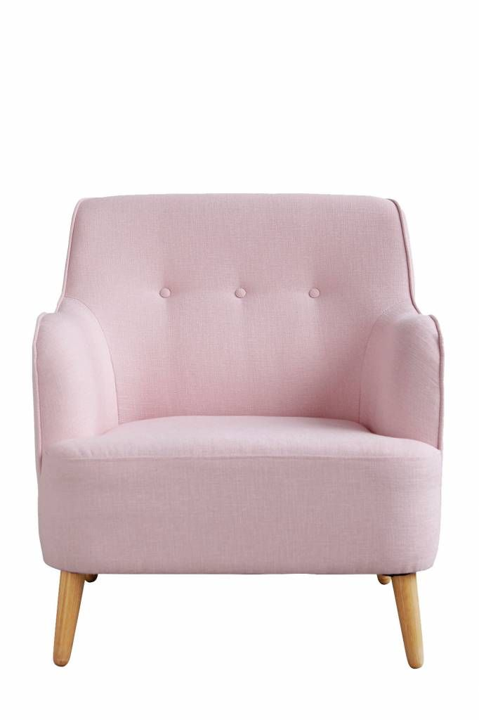 Awesome pink minimalistic Quest armchair from House Doctor. Nice to combine with the latest interior decoration!