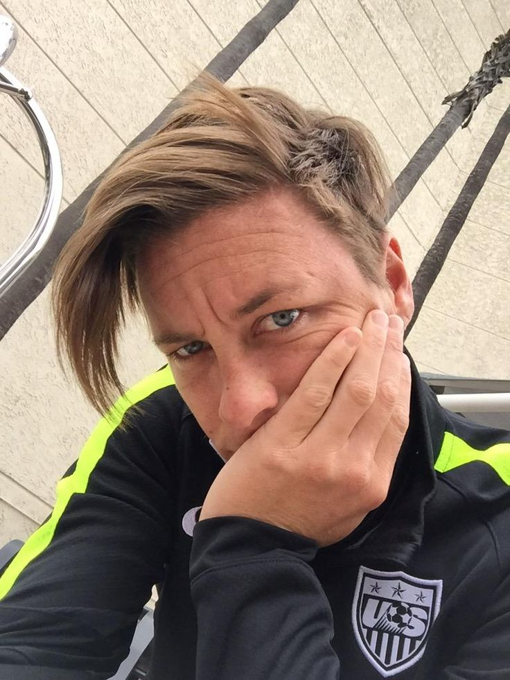 Abby Wambach. 'What one looks like after being left at the hotel.' (Twitter)