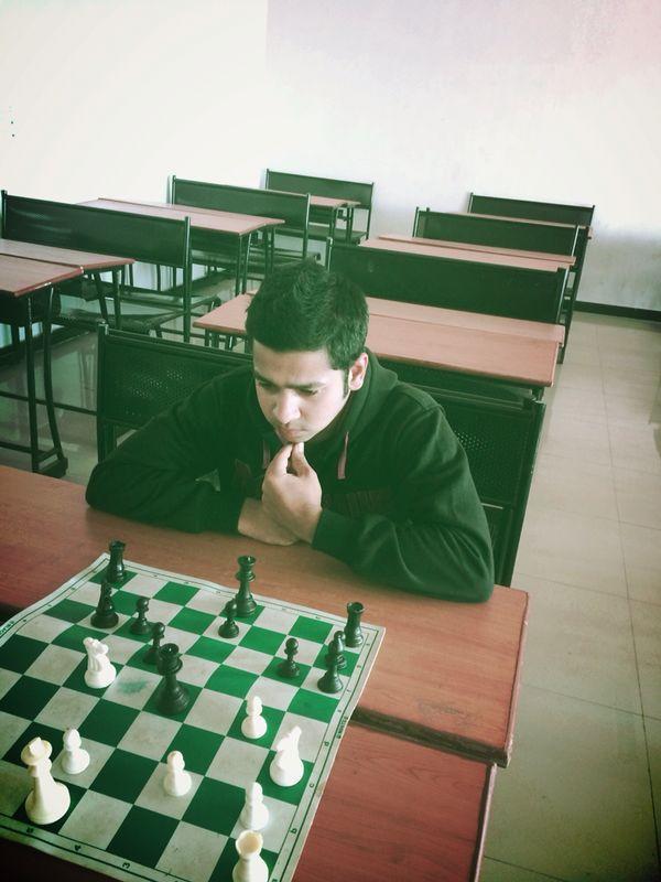 Vishesh Gupta planning his next move...
