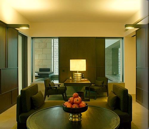 Aman New Delhi - aman room living room