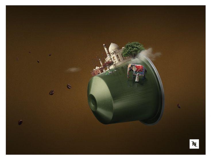Nespresso - Les saveurs et leur incroyable voyage by Herezie - Direct Marketing