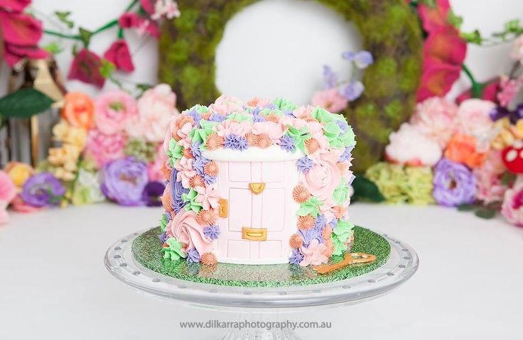 Fairy Door Cake Smash Cake