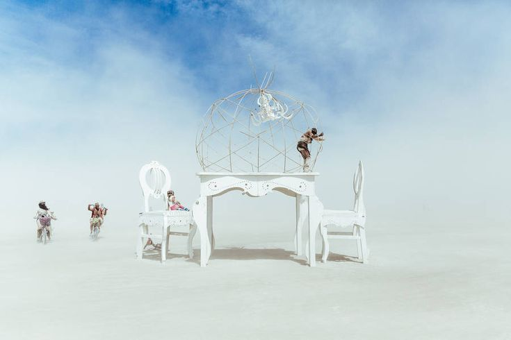 Unreal Burning Man 2015 Photography – Fubiz Media-Matthieu Vautrin