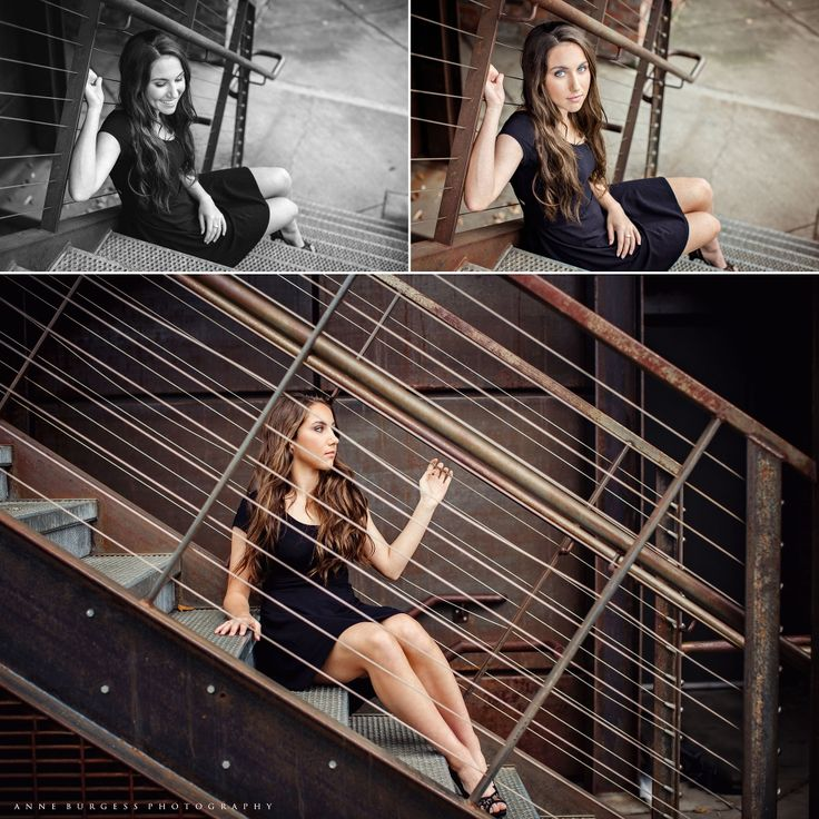 Senior pictures, senior photography, urban senior picture ideas, senior pictures in the city, Anne Burgess Photography, girl senior poses, senior poses stairs
