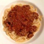 Chunky Bolognese Sauce