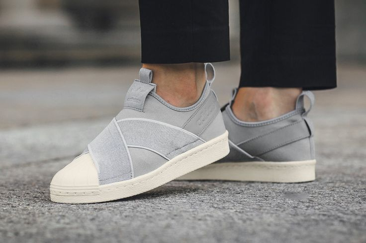 adidas Originals Superstar Slip-On Grey Clonix