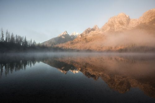 robsesphoto:  One of my favorite scenes of 2014. Grand Teton...