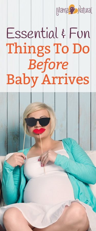 Life won't be the same after baby arrives! So it's time to live it up and enjoy yourself. Here are some great ideas for things to do before baby arrives.