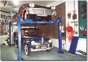 You can double your vehicle storage space with vehicle lifts from Miller Garages. If you love your vehicles but have limited space for keeping them, we can help you. We'll come to your home, review your storage options with you, and prescribe the auto lift that will take care of your needs. #Michigan_car_lifts