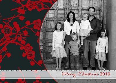 25 Free Christmas Card Printables