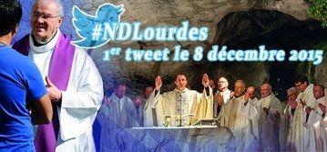 Cappellano di Lourdes su Twitter