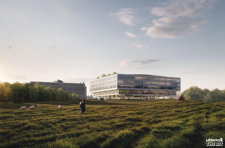 Life Sciences Building for the University of Lausanne, Kaan + Koen Van Velsen, Switzerland, 2016