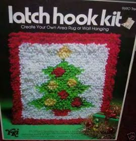 70s-child: Latch Hook kits!......made a few of them back in the day!