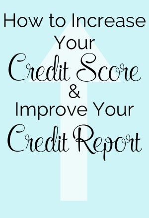 how to get a better credit score fast