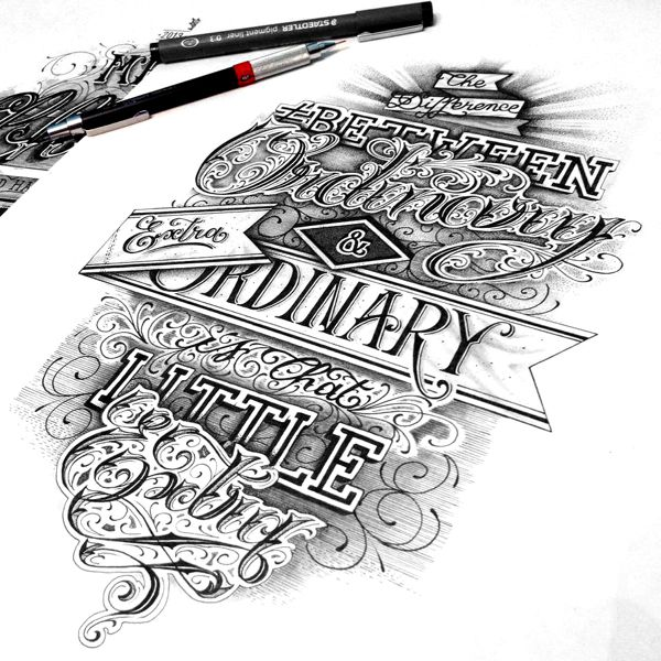 Hand Lettering #1