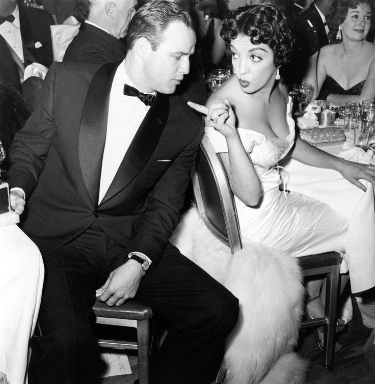 The Roll Lapel Dinner Jacket. Marlon Brando and Katy Furtado.