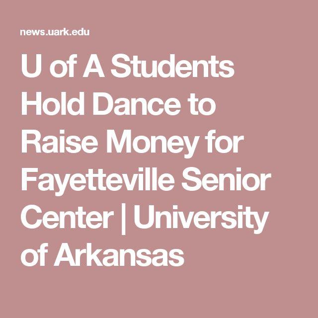 U of A Students Hold Dance to Raise Money for Fayetteville Senior Center   University of Arkansas