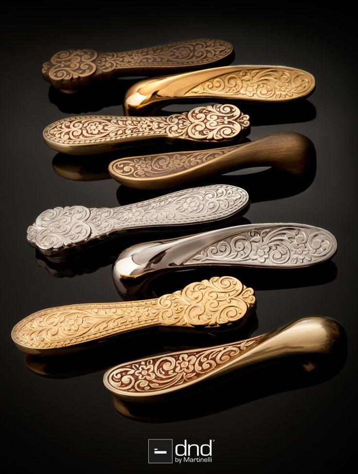 #classic #door #handle #gold #italian #dnd