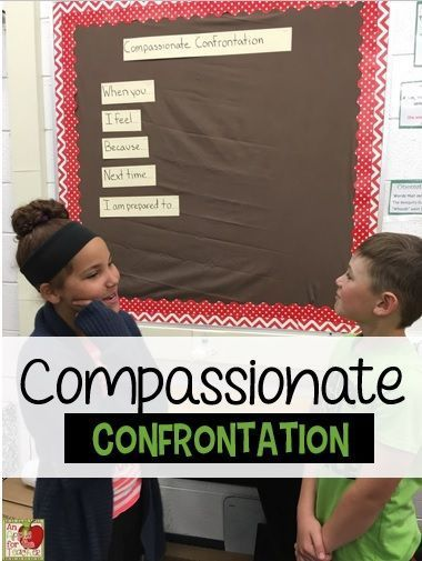 Compassionate Confrontation to increase self advocacy and reduce tattling
