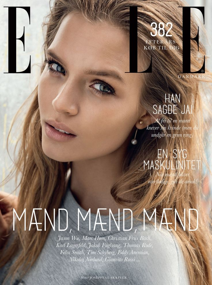 visual optimism; fashion editorials, shows, campaigns & more!: boy meets girl: josephine skriver by sean mcmenomy for elle denmark november 2014