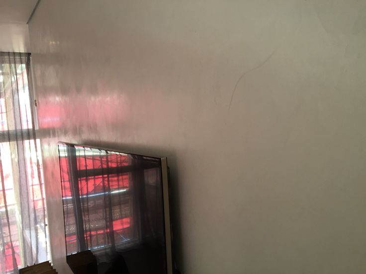 The block Josh and Charolette  living room in marmorino finish