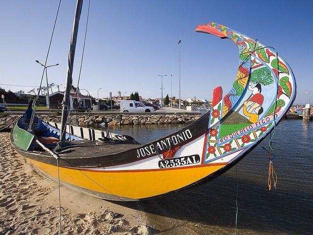 Moliceiro Boat - Aveiro - Portugal