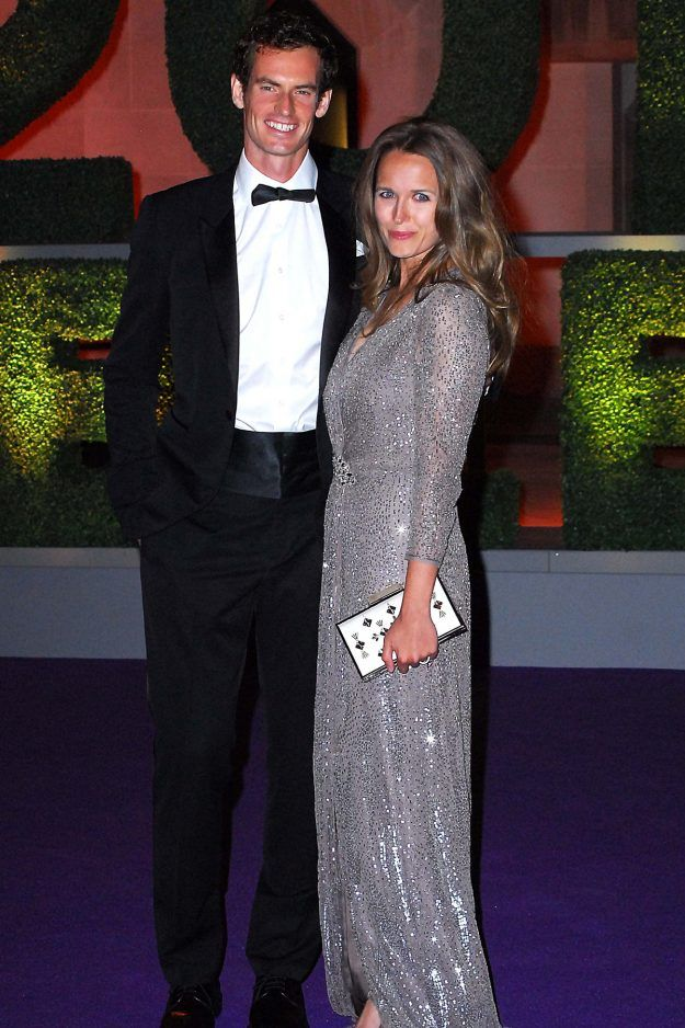 Andy Murray and Kim Sears prove they scrub up well at the Wimbledon Champions Dinner