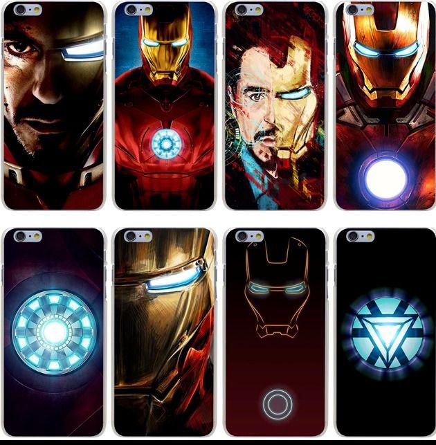 funda iphone 7 ironman