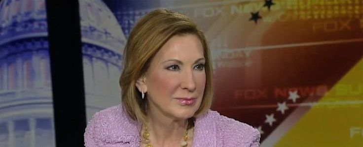 Carly Fiorina compares Hillary Clinton to Richard Nixon and strongly suggests she's running for president in 2016.