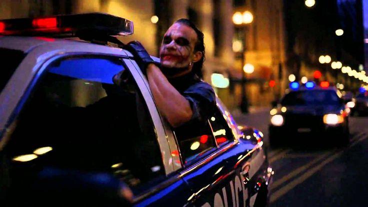 The Dark Knight - Joker Police Car Scene HD VO