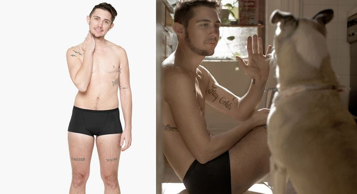 Company creates period shorts for transgender men