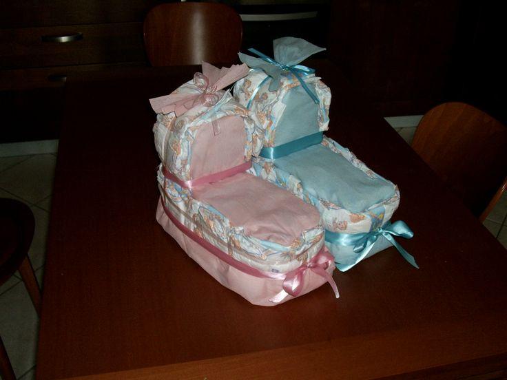17 migliori immagini su torte di pannolini su pinterest regali per bambini. Black Bedroom Furniture Sets. Home Design Ideas