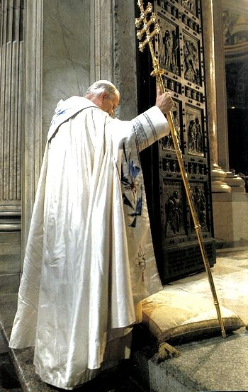 The last time the Holy Door was opened in the Jubilee Year of 2000 by St & 573 best Pope John Paul II images on Pinterest Pezcame.Com
